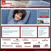 Flooring store website design